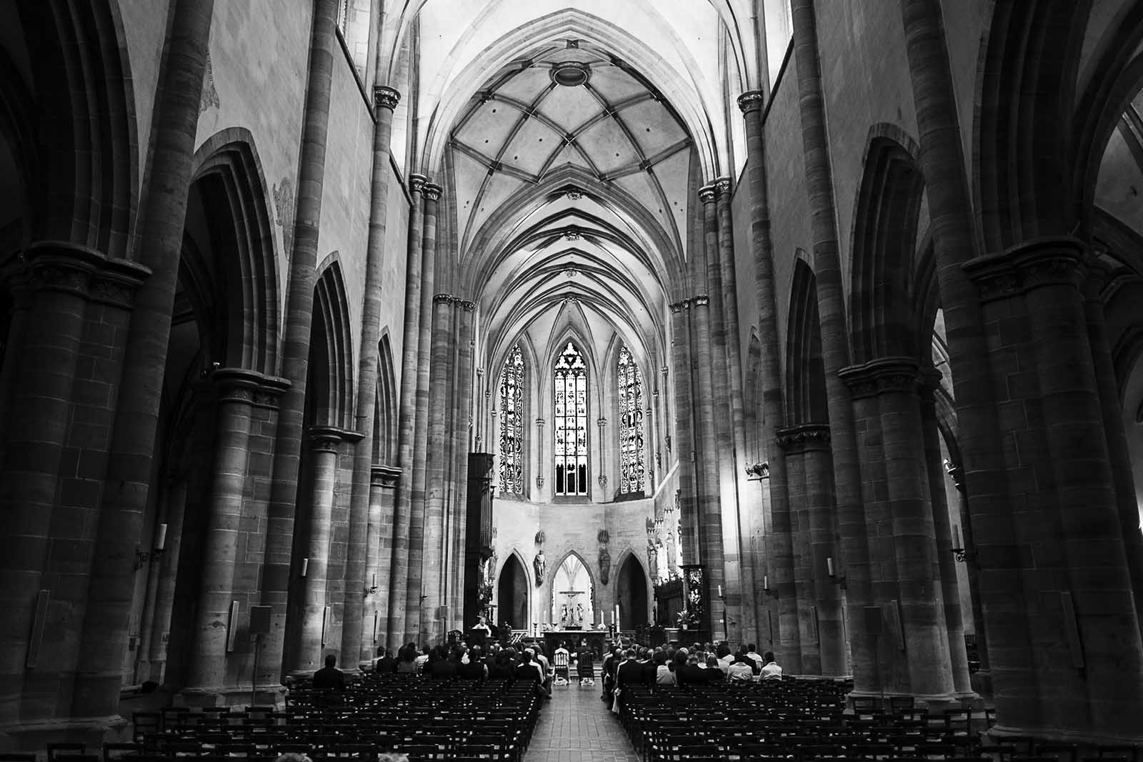 Mariage dans la cathédrale de Colmar