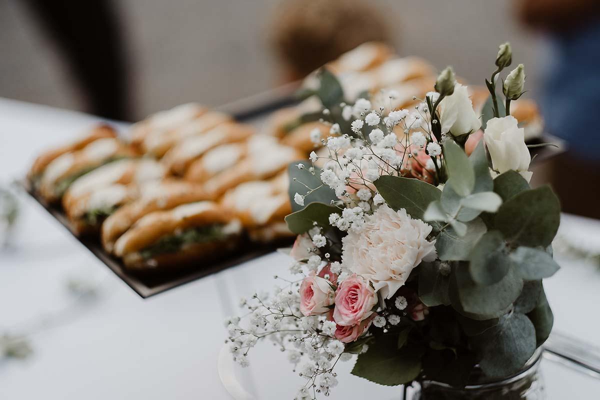 Détail d'une table du vin d'honneur-photographe-mariage-alsace