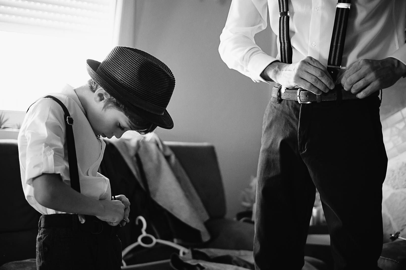 préparatifs père et fils-photographe-mariage-alsace