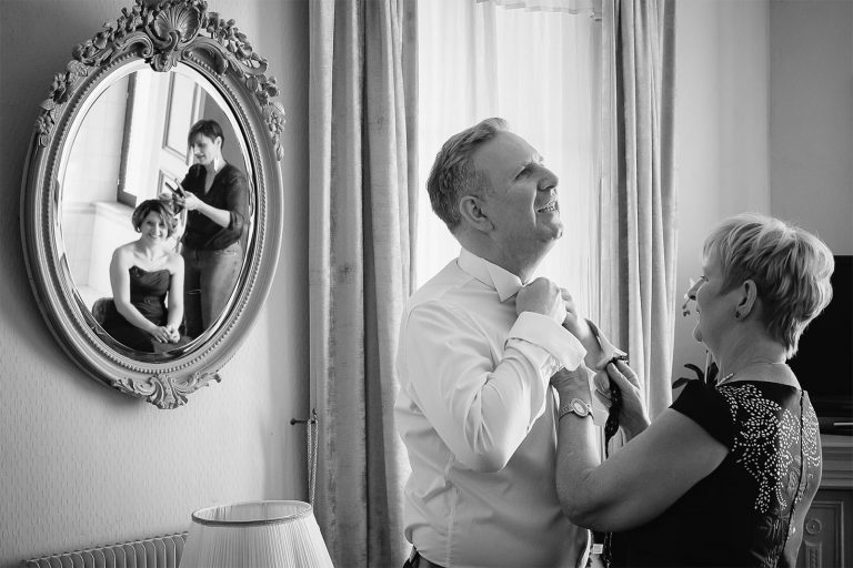 Préparatifs du marié