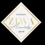 ZIWA award 2019 par Zankyou pour Saleen photo et vidéo photographe-mariage-alsace